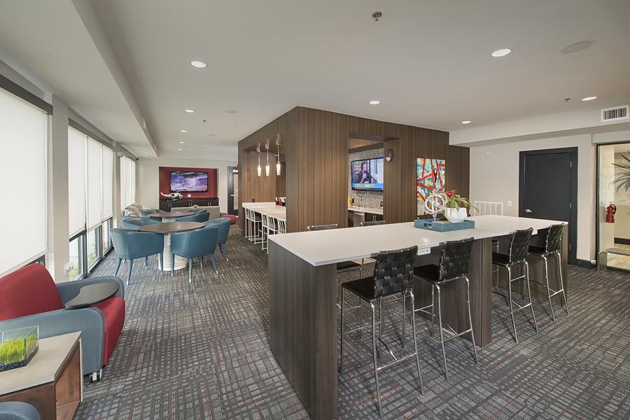 Kathy Andrews Interiors Student Housing Interior Design The Domain ...