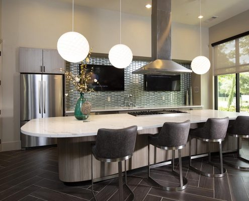 Kathy Andrews Interiors Parkside at Memorial Multifamily Leasing and Amenity Center Clubroom-2
