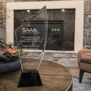 Kathy Andrews Interiors Multifamily Interior Design Leasing and Amenity Center The Park on Wurzbach SAAA Award