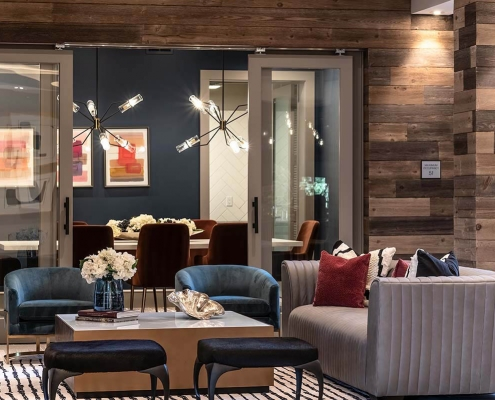 Kathy Andrews Interiors Multifamily Interior Design Leasing and Amenity Centers Luxe at Mile High Lounge Cropped