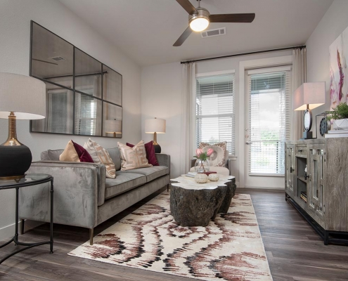 Kathy Andrews Interiors Multifamily Interior Design Model Units Gateway Arvada Ridge Model Unit 6
