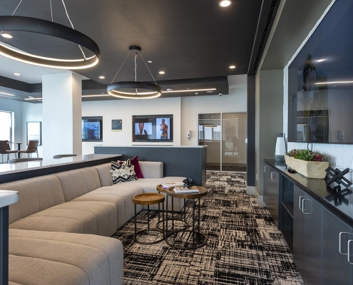 Kathy Andrews Interiors Student Housing Interior Design Aspire San Marcos Sky Lounge 4