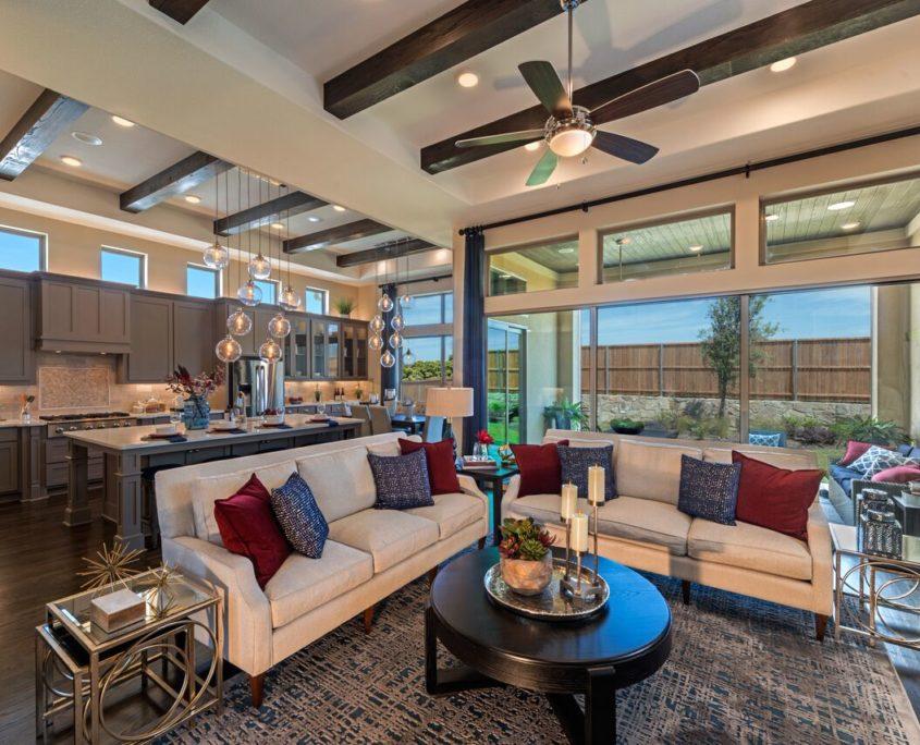 Kathy Andrews Interiors Landon Homes Lexington John R Landon Executive Series 785 Frisco Texas Living