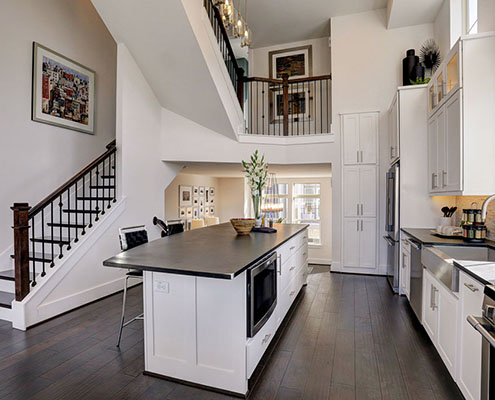 Kathy Andrews Interiors Multifamily The Reserve at Washington Kitchen cropped