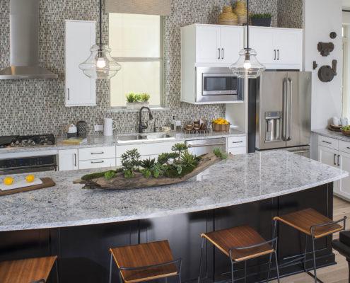 Kathy Andrews Interiors David Weekley Homes Parkside at Trinity Green Lambert 8673 Dallas TX Kitchen
