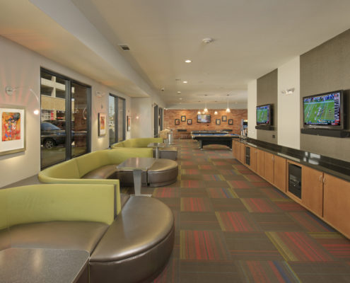 Kathy Andrews Interiors Asset Plus Student Housing Leasing and Amenity Center 25Twenty Lubbock TX Game 1 lo res