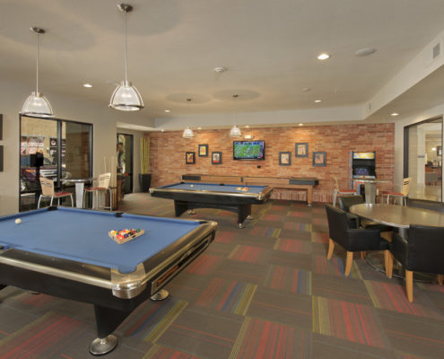 Kathy Andrews Interiors Asset Plus Student Housing Leasing and Amenity Center 25Twenty Lubbock TX Game 2 lo res