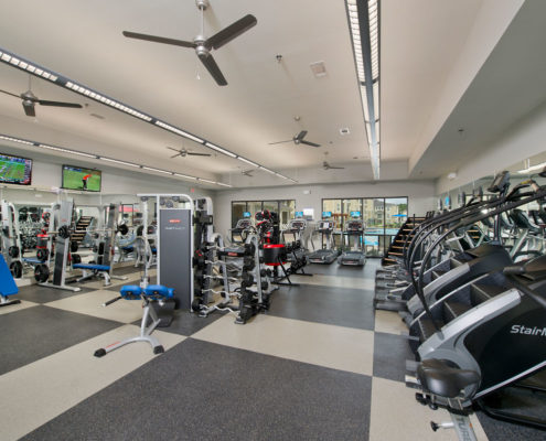 Kathy Andrews Interiors Asset Plus Student Housing The Domain at Oxford MS Fitness 1