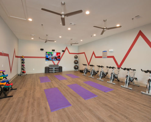 Kathy Andrews Interiors Asset Plus Student Housing The Domain at Oxford MS Fitness 2