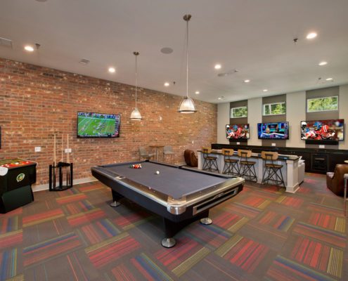 Kathy Andrews Interiors Asset Plus Student Housing The Domain at Oxford MS Game 1