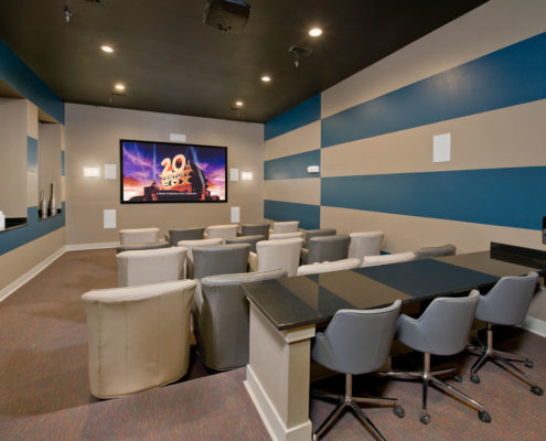 Kathy Andrews Interiors Asset Plus Student Housing The Domain at Oxford MS Theater