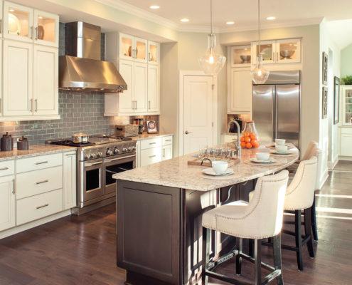Kathy Andrews Interiors David Weekley Homes Montclair Honeycutt 5608 Wendell NC Kitchen