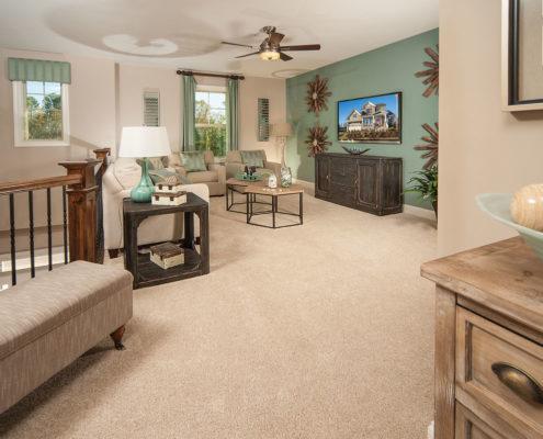 Kathy Andrews Interiors David Weekley Homes Montclair Honeycutt 5608 Wendell NC Upstairs