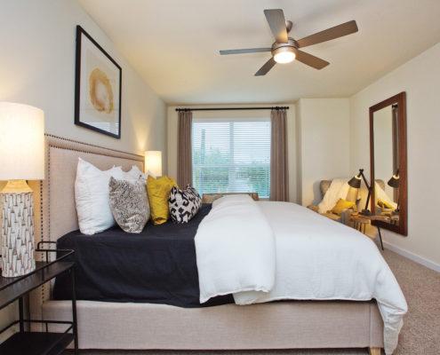 Kathy Andrews Interiors David Weekley Homes Villas at Roanoke Westworth 8677 San Antonio, TX Bedroom 2