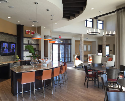 Kathy Andrews Interiors Fish Hawk Ranch Active Adult Living Community Amenity Center 3