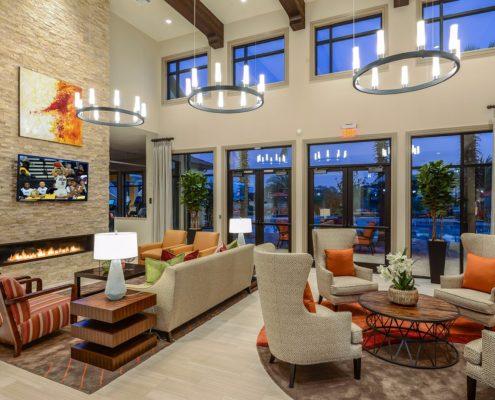 Multifamily Interior Design Kathy Andrews Interiors Fish Hawk Ranch Community Amenity Center 7