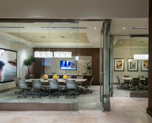 Multifamily Interior Design Kathy Andrews Interiors Hanover Post Oak Multifamily Leasing and Amenity Center conference room