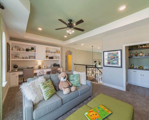 Kathy Andrews Interiors Landon Homes Lexington Country Heritage Series 432 Frisco Texas Game Room