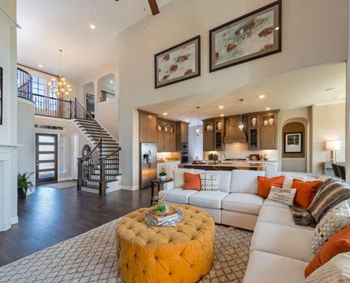 Kathy Andrews Interiors Landon Homes Lexington Country Heritage Series 450 Frisco Texas Living