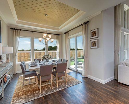 Kathy Andrews Interiors Landon Homes Lexington Country Heritage Series 450 Frisco Texas Dining