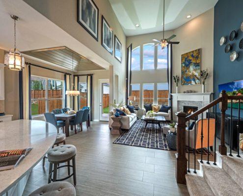 Kathy Andrews Interiors Landon Homes Lexington Country Impression Series 4655 Frisco Texas Model Overview