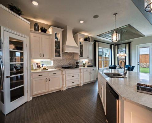 Kathy Andrews Interiors Landon Homes Lexington Country Impression Series 4655 Frisco Texas Kitchen