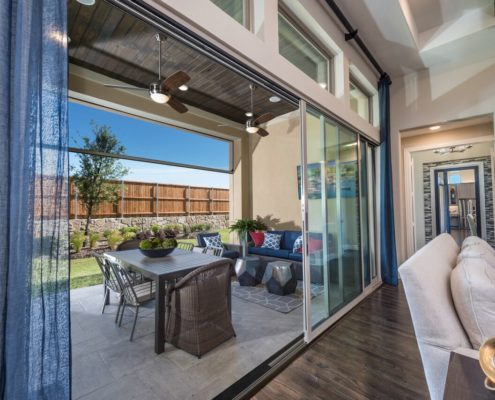 Kathy Andrews Interiors Landon Homes Lexington John R Landon Executive Series 785 Frisco Texas 2 Patio