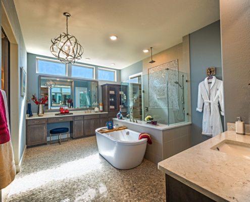 Kathy Andrews Interiors Landon Homes Lexington John R Landon Executive Series 785 Frisco Texas 2 Master Bath