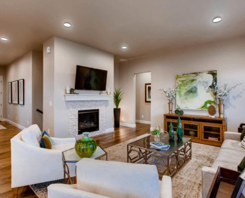 Kathy Andrews Interiors Richfield Homes The Ridge at Harmony Road Windsor CO Family Room