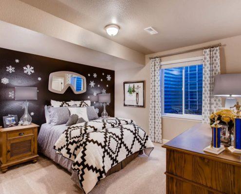 Kathy Andrews Interiors Richfield Homes The Ridge at Harmony Road Windsor CO Kids Room