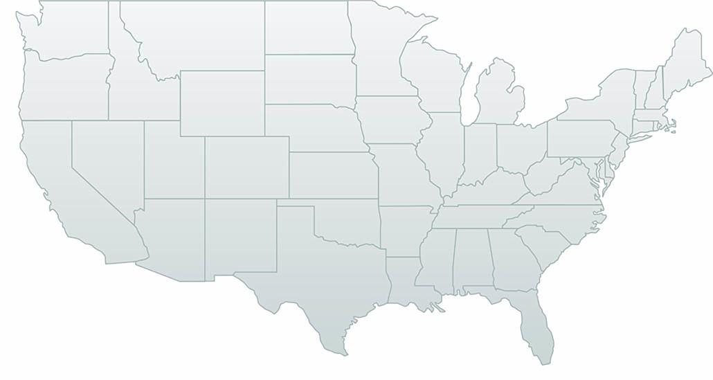 Interior designers US Map