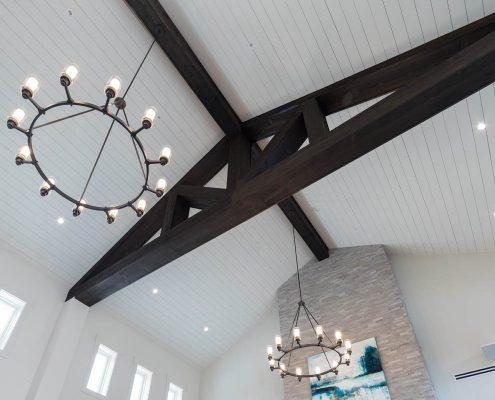 Active Adult Living Community Spaces -Great Room1 Kathy Andrews Interiors - David Weekley Homes Encore at Briar Chapel