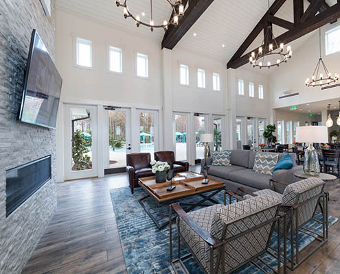 Active Adult Living Interior Design - David Weekley Encore at Briar Chapel