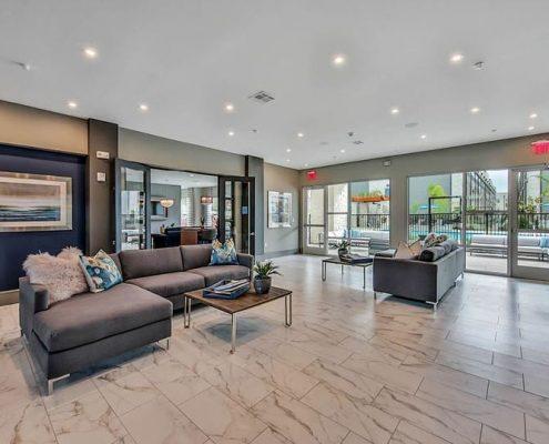 Kathy Andrews Interiors Multifamily Interior Design Streamsong Lobby
