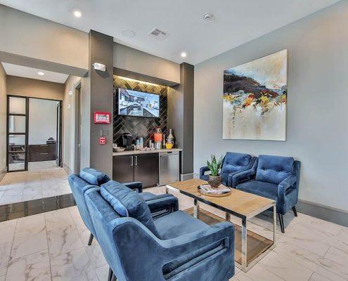 Kathy Andrews Interiors Multifamily Interior Design Streamsong Resident Break Area