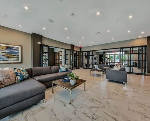 Kathy Andrews Interiors Multifamily Interior Design Streamsong Resident Lounging Area