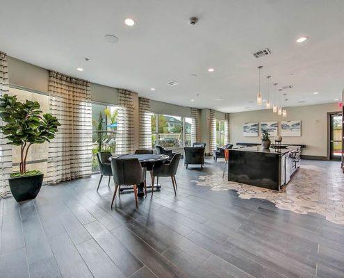 Kathy Andrews Interiors Multifamily Interior Design Streamsong Resident Retreat Area