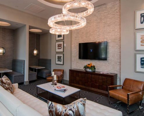 Kathy Andrews Interiors Multifamily Interior Design Leasing and Amenity Center Pearl Residences at CityCentre Lobby 4