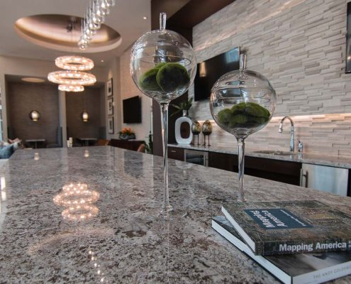 Kathy Andrews Interiors Multifamily Interior Design Leasing and Amenity Center Pearl Residences at CityCentre Lobby 8