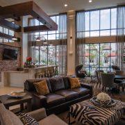 Kathy Andrews Interiors Multifamily Interior Design Domain Memorial Leasing and Amenity Centers Club Room 2