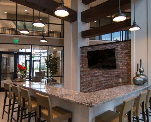 Kathy Andrews Interiors Multifamily Interior Design Domain Memorial Leasing and Amenity Centers Club Room 3