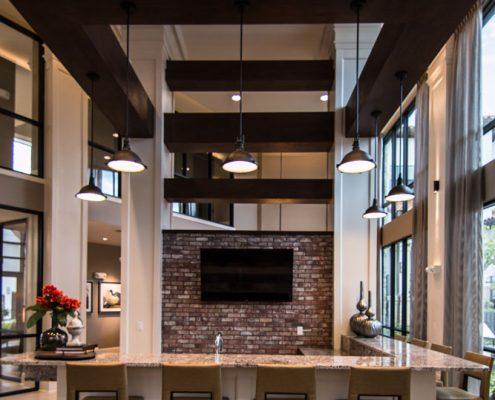 Kathy Andrews Interiors Multifamily Interior Design Domain Memorial Leasing and Amenity Centers Club Room 4