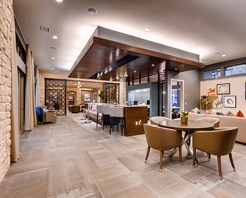 Kathy Andrews Interiors Multifamily Interior Design Leasing and Amenity Centers Touchstone Clubhouse cropped
