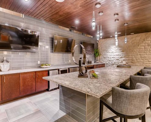 Kathy Andrews Interiors Multifamily Interior Design Leasing and Amenity Centers Touchstone Dining Room
