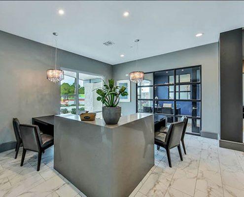 Kathy Andrews Interiors Multifamily Interior Design Streamsong Leasing Area