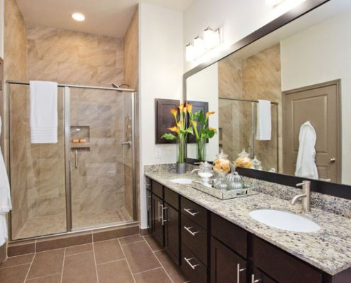 Kathy Andrews Interiors Multifamily Interior Design Model Unit Alexan Spring Crossing 21
