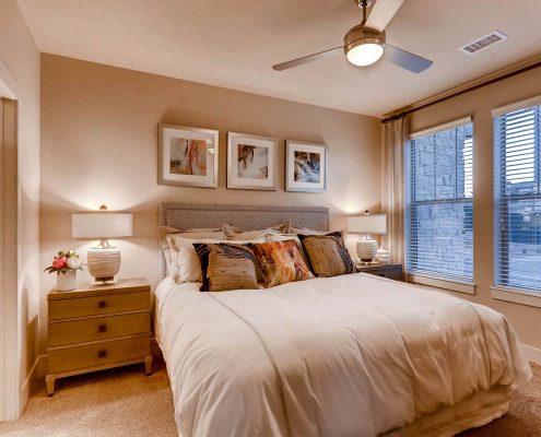Kathy Andrews Interiors Multifamily Interior Design Model Units Touchstone Bedroom 2