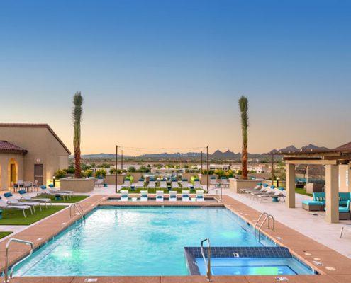 Kathy Andrews Interiors Multifamily Interior Design The Core Scottsdale Outdoor 3