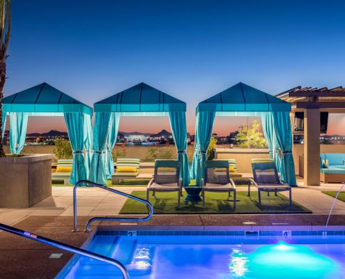 Kathy Andrews Interiors Multifamily Interior Design The Core Scottsdale Outdoor 4