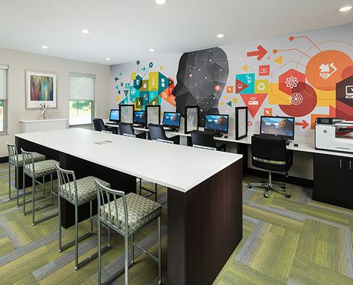 Student housing interior design kathy andrews interiors for Studio interior design brescia